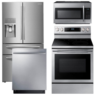 Samsung® 4-pc. Electric Kitchen Package-Stainless Steel