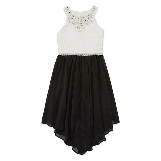 Knit Works Girls Sleeveless Party Dress