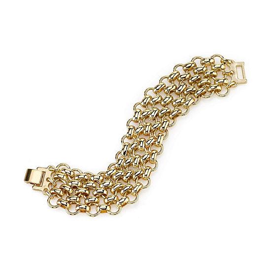 1928 Vintage Inspirations 7 Inch Link Chain Bracelet