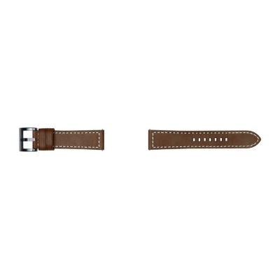Samsung Galaxy 46mm Compatible Mens Brown Leather Watch Band-Gp-R765breeeab