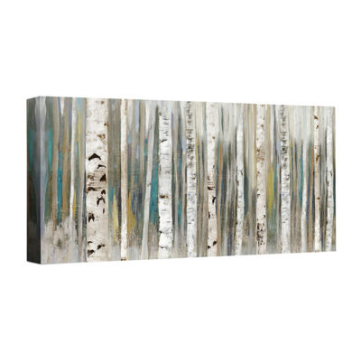 Birch Forest Canvas Art