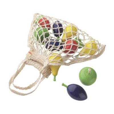 Haba Wooden Fruit Set In Shopping Bag