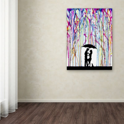Trademark Fine Art Marc Allante Two Step Giclee Canvas Art