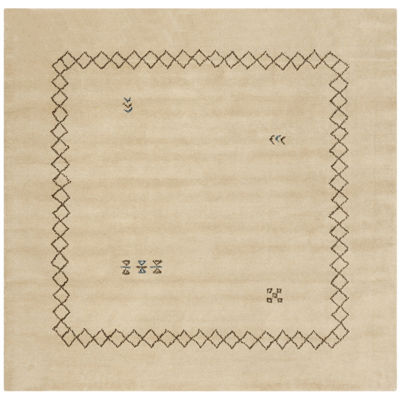 Safavieh Himalaya Collection Harold Border SquareArea Rug