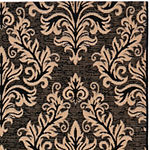 Safavieh Courtyard Collection Domhnall Floral Indoor/Outdoor Runner Rug