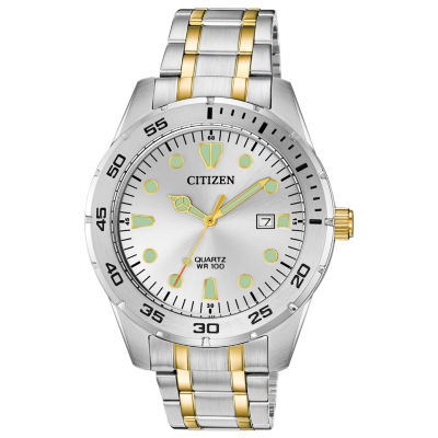 Citizen Mens Two Tone Bracelet Watch-Bi1044-59b