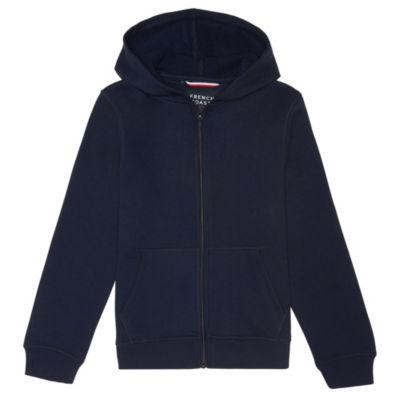 French Toast Hooded Long Sleeve Fleece Uniform Sweatshirt- Boys