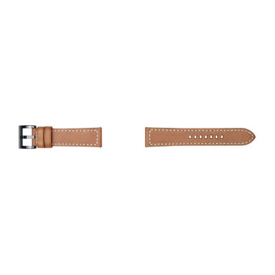 Samsung Galaxy 46mm Compatible Mens Brown Leather Watch Band-Gp-R765breeeac