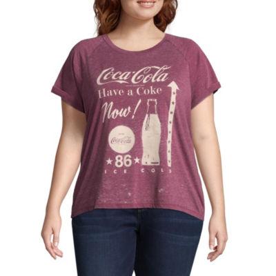Coca Cola Tee -Juniors Plus