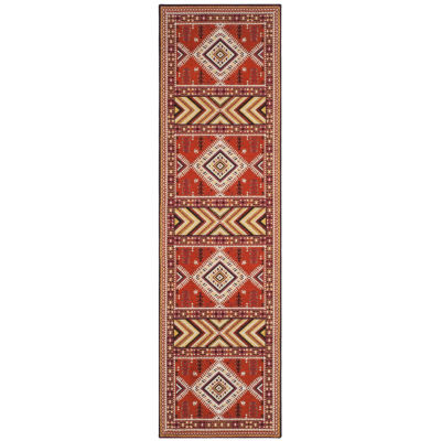 Safavieh Classic Vintage Collection Border Geometric Runner Rug