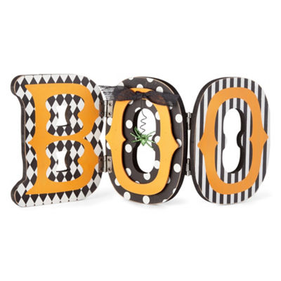 JCPenney Home Collapsible Boo Tabletop Decor