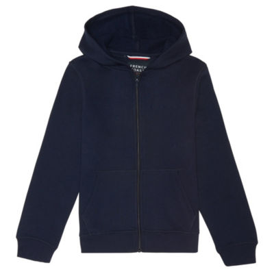 French Toast Hooded Long Sleeve Fleece Uniform Sweatshirt- Boys 4-7