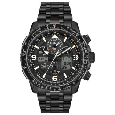 Citizen Mens Black Bracelet Watch-Jy8075-51e