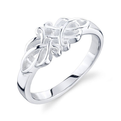 Footnotes Footnotes Footnotes Womens Sterling Silver Band