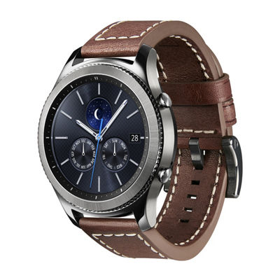 Samsung Gear S3 Compatible Unisex Brown Watch Band-Gp-R765breeeab