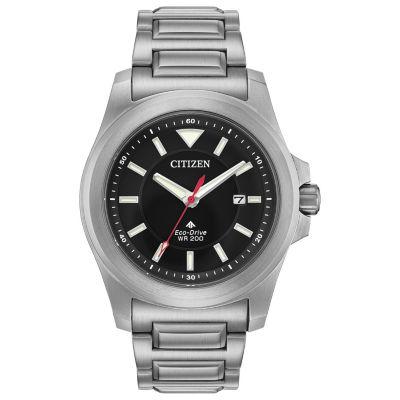 Citizen Mens Silver Tone Bracelet Watch-Bn0211-50e