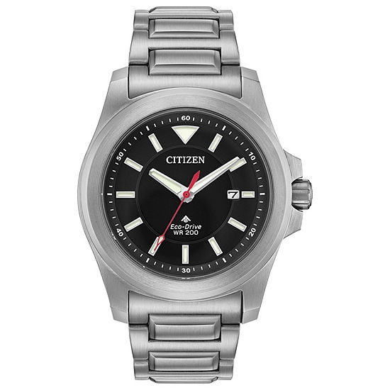 Citizen Promaster Tough Mens Silver Tone Stainless Steel Bracelet Watch-Bn0211-50e