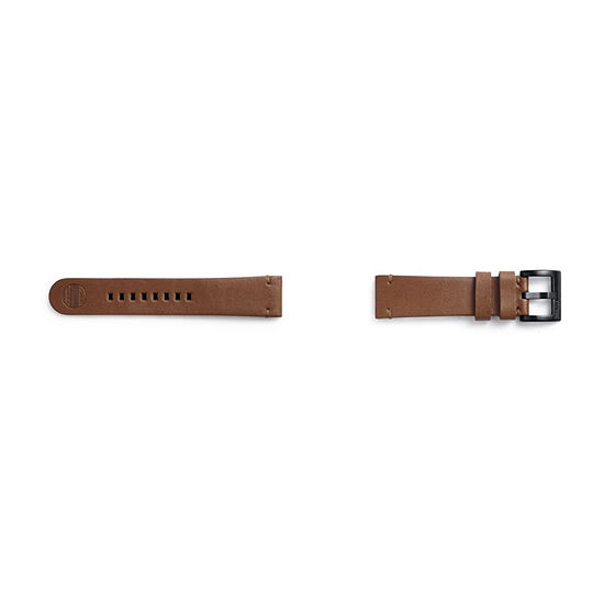 Samsung Gear S3 Compatible Unisex Adult Brown Leather Watch Band-Gp-R765breeiac