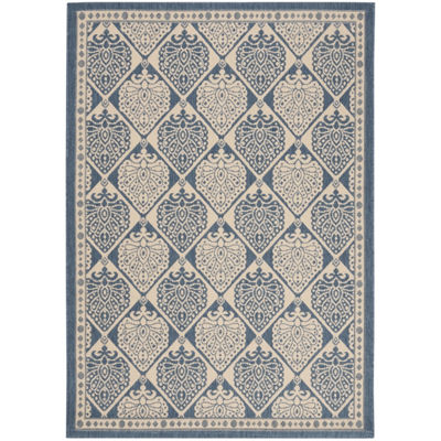 Safavieh Courtyard Collection Carmelo Floral Indoor/Outdoor Area Rug
