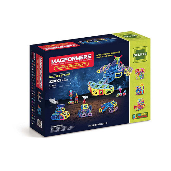 Magformers Super Brain 256 Pc Set