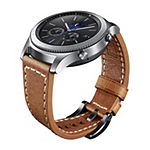 Samsung Gear S3 Compatible Unisex Adult Brown Leather Watch Band-Gp-R765breeeac