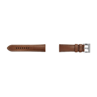 Samsung Galaxy 46mm Compatible Mens Brown Leather Watch Band-Gp-R770breebac