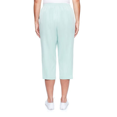 Alfred Dunner Day Dreamer High Waisted Capris