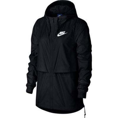 Nike Full Zip Hooded Lightweight Raincoat