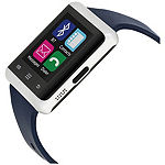 Itouch Air Unisex Adult Digital Blue Smart Watch-Ita33605s714-024