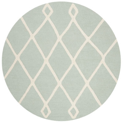 Safavieh Kids Collection Paolo Geometric Round Area Rug