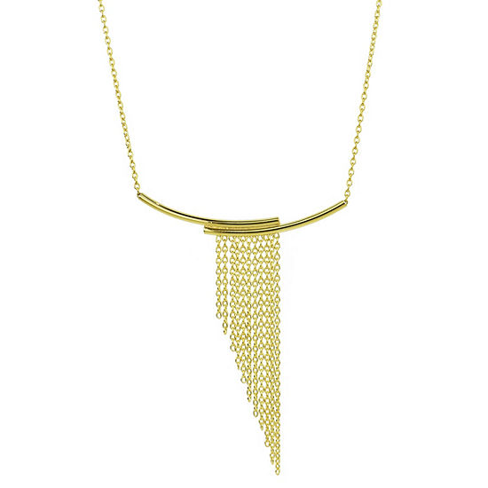 Sechic Womens 14K Gold Statement Necklace