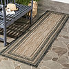 Safavieh Courtyard Collection Wanda Stripe Indoor/Outdoor Runner Rug