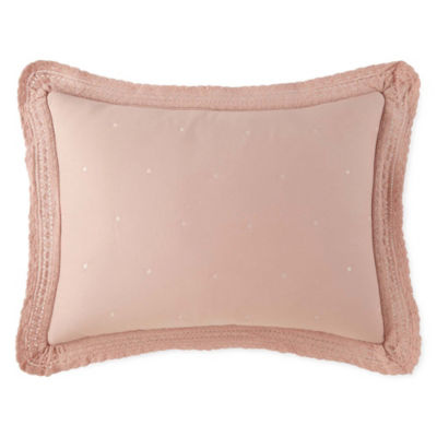 JCPenney Home Cara Embellished Pillow Sham