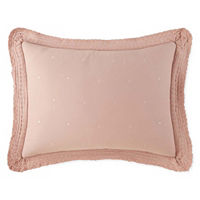 JCPenney Home Cara Embellished Pillow Sham, One Size , Multiple Colors