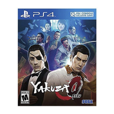 Playstation 4 Yakuza 0 - Playstation Hits Video Game