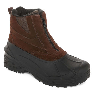 Weatherproof Mens Tahoe IV Water Resistant Insulated Winter Zip Boots
