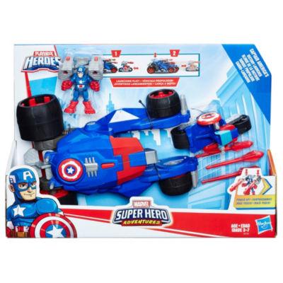 Marvel Super Hero Adventures Captain America Victory Launcher
