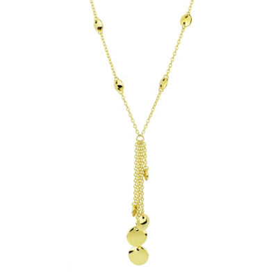 Sechic Womens 14K Gold Y Necklace