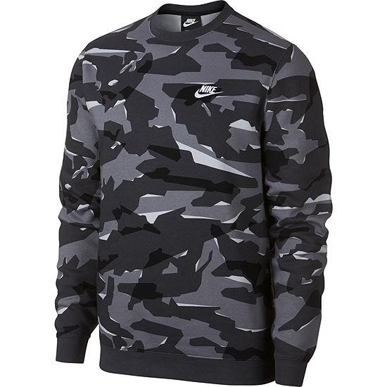 Nike Mens Crew Neck Long Sleeve Sweatshirt