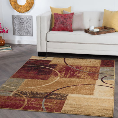 Tayse Elegance Tacoma Rectangular Indoor Rugs