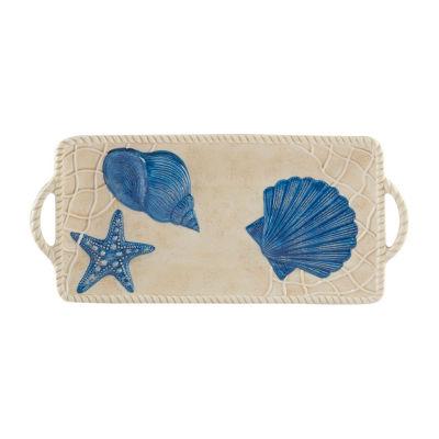 Certified International Seaside Serving Platter