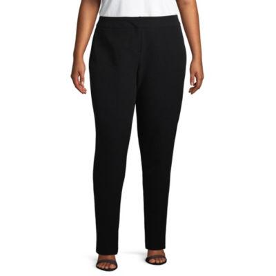 Worthington Modern Fit Slim Pants - Plus