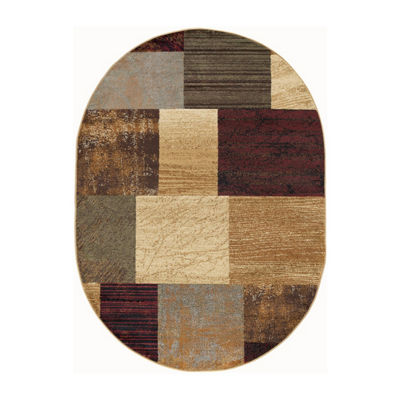 Tayse Elegance August Oval Area Rug