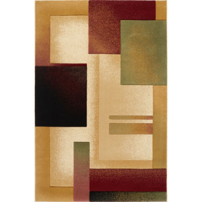 Home Dynamix Evolution Mondrian Abstract Rectangular Rug
