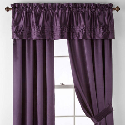 JCPenney Home Adriana Rod-Pocket Curtain Panel