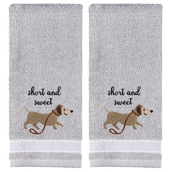 Saturday Knight Short And Sweet 2 Pc Animals Insects Hand Towel
