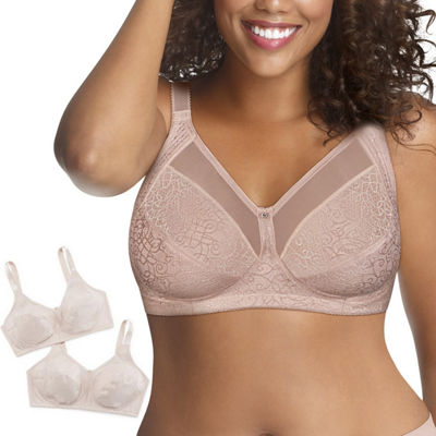 Just My Size 2-Pack Wireless Full Coverage Bra-Mjp1q2