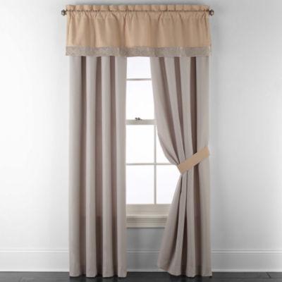 JCPenney Home Mercer Rod-Pocket Curtain Panel