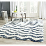 Safavieh Montreal Shag Collection Zoey Geometric Area Rug