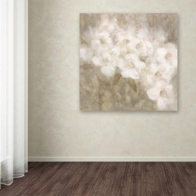 Trademark Fine Art Li Bo Wild Flowers II Giclee Canvas Art